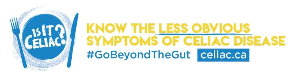 Canadian Celiac Association - Go Beyond the Gut Campaign Photo