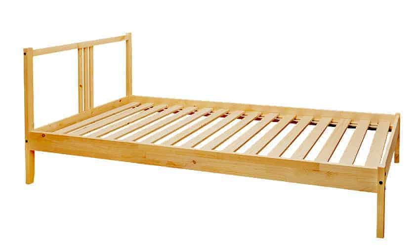 Wooden Bed Frame for Mattress Recycling