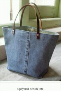 Spring Cleaning Idea 2: Zero Waste Tote Bags